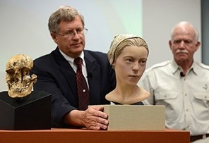 "Sometimes heritage is just gross. Advanced archeological techniques prove that this 14-year old girl was eaten: She has been reconstructed after archaeologists found her bones in Jamestown, Virginia. Her remains show that she died during the ""starving time"" period and bare the telltale signs of cannibalism."