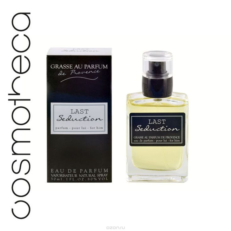 Grasse Au Parfum Парфюмерная вода Last Seduction, мужская, 30 мл