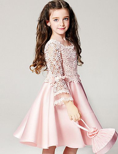 Dance like no one is watching.  Beautiful light pink lace dress for little lady. Enjoy 5% OFF till October 3.