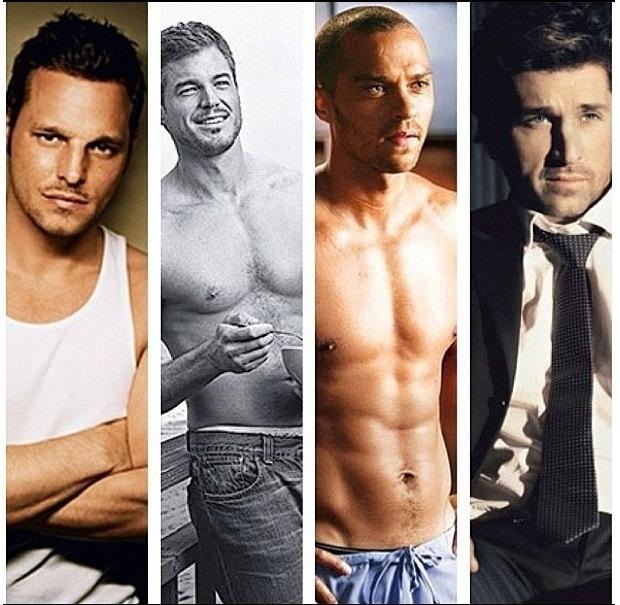 Favorite men of Grey's Anatomy