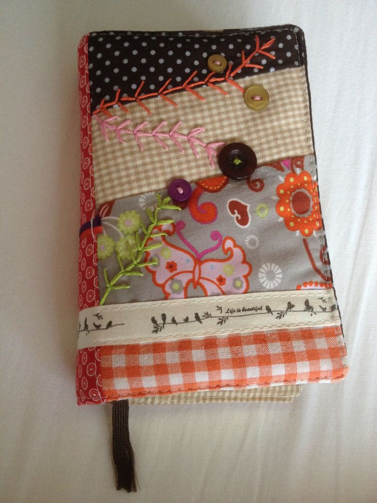 Diy Quilted Book Cover : Best images about quilting book covers on