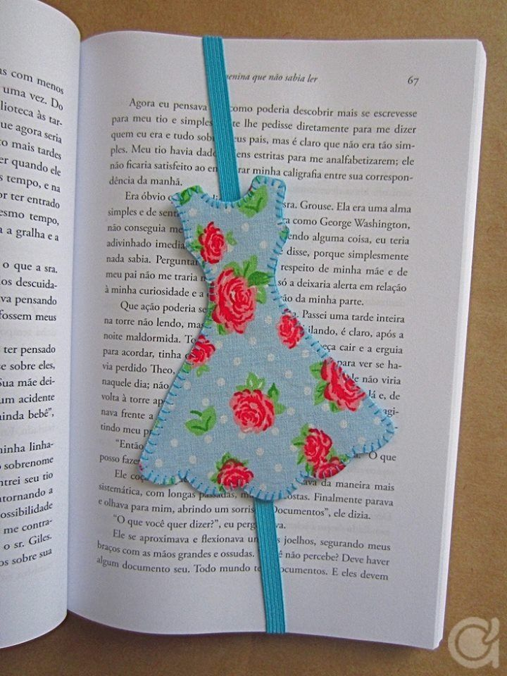 DIY - Book Mark ~~~~~~~~~ (reading, libraries, learn, accessory)