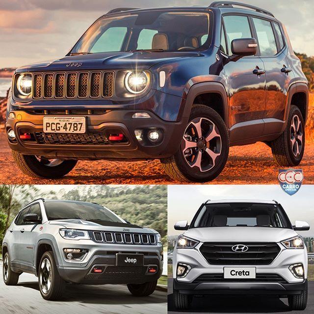 Jeep Renegade O Mais Vendido Em 2019 Dupla Da Jeep Esta