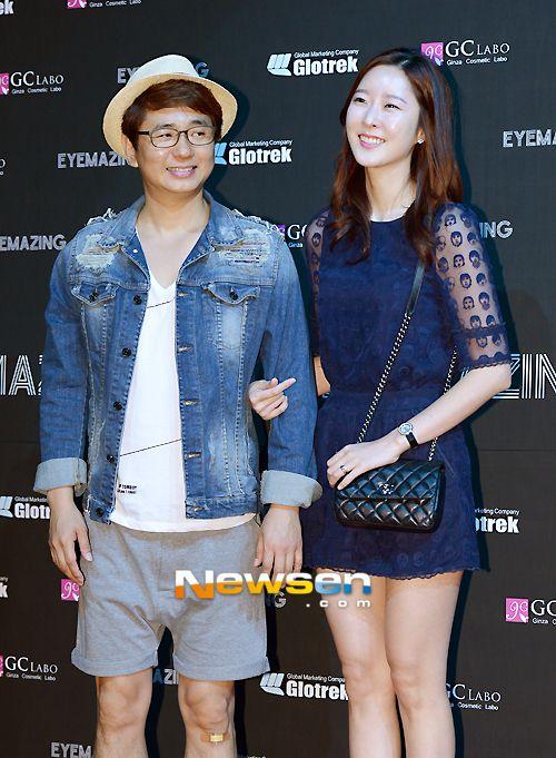 Eyemazing Launch Party - Park Sung ho, his wife  아이메이징 런칭파티 - 개그맨 박성호씨 부부