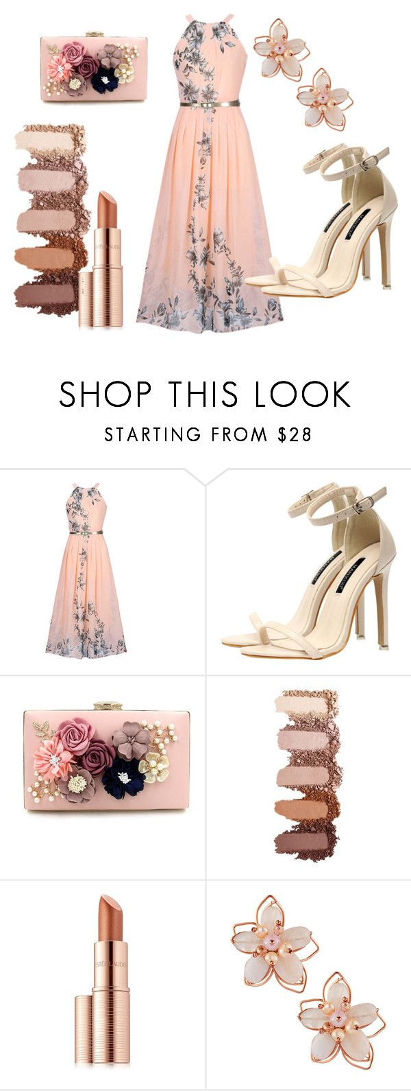 Wedding season by patsilvarte-blog on Polyvore featuring WithChic, NAKAMOL and Estée Lauder
