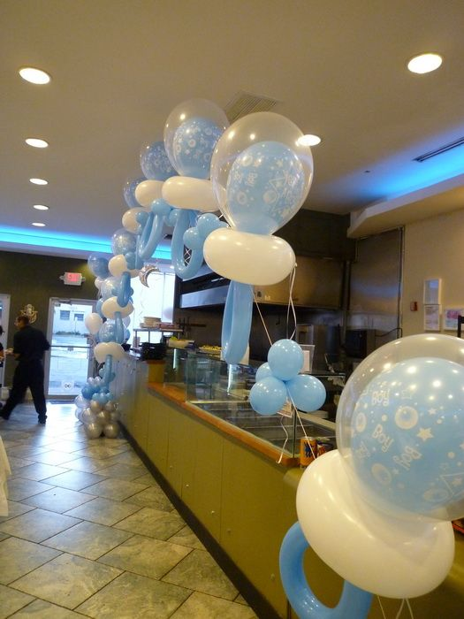 boy pacifier balloon arch for baby shower balloon baby shower