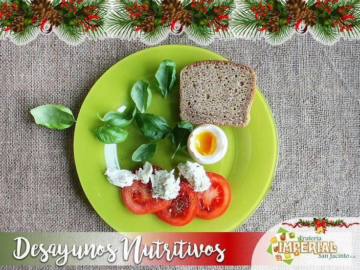 Desayunod nutritivos los que puedes preparar comprando los ingredientes en  @fruteriaimperialsanjacinto.  #DesayunoNutritivo El huevo tiene una serie de características nutricionales que vale la pena analizar de cerca:  #Proteínas :  El huevo es muy rico en proteínas de alto valor biológico es decir contiene todos los aminoácidos esenciales en las cantidades adecuadas para cubrir las necesidades del organismo.  #Grasas :  Los huevos contienen aproximadamente un 10% de grasas de las cuales la…