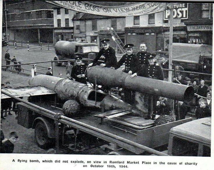 Romford market 1944