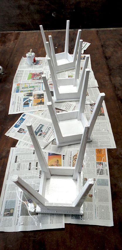 Nuevo diseño para mueble antiguo http://www.tissuerestauracion.com