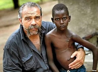 """I say to my critics who have never ever seen what I have seen happening in Africa; If someone stole your child, took your daughter, son, niece or nephew and I said; 'I can get them home alive and safely' would you care how I did it?""  Sam Childers"