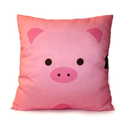 This would go great with pig bed sheets or a pig chair