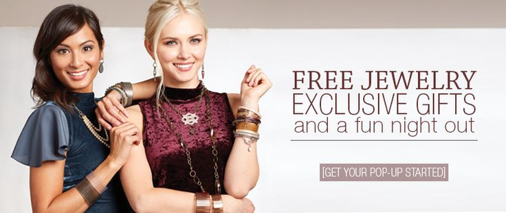 Host a Pop-up to earn free jewelry