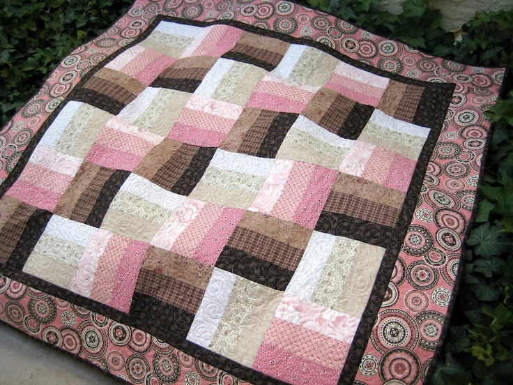 1000+ ideas about Rail Fence Quilt on Pinterest Easy quilt patterns, Quilt patterns and Quilting