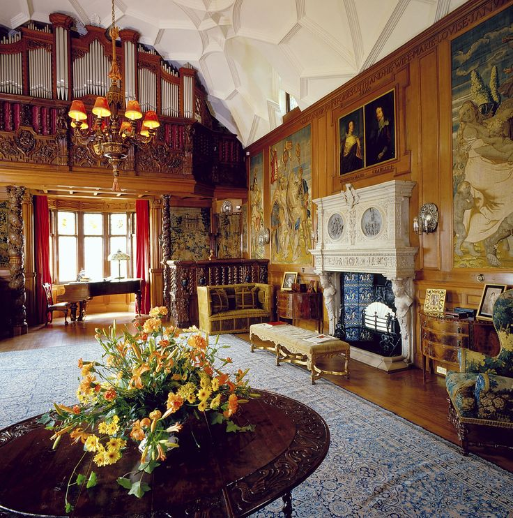 Fyvie Castle Scotland Is Renowned For Its Lavish Interiors Intricate Ceilings And World Famous Art Collections A Magical Setting Weddings