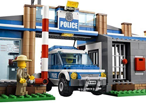 Lego Police Station City Rescue Car Edible Cake Topper Frosting 14 Sheet Birthday Party * For more information, visit image link.