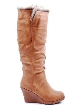 Výprodej - Módní zimní kozačky na klínu https://cosmopolitus.eu/product-cze-45793-Vyprodej-Modni-zimni-kozacky-na-klinu-JW308-6675C-P32-.html #Zimní #boty #prodej #nejlevnejsí #pohodlnou #modu