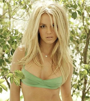 old school  britney spears hair is everything