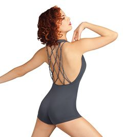 i absolutely love this unitard!  NEW! Capezio Adult Loop Luxe Biketard  Style No: 10017  $42.10