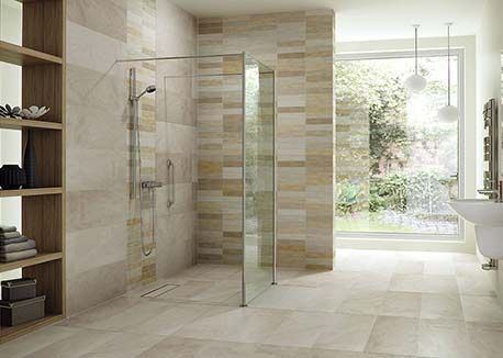 Roll In Showers And Wet Rooms Are Sleek And Safe.