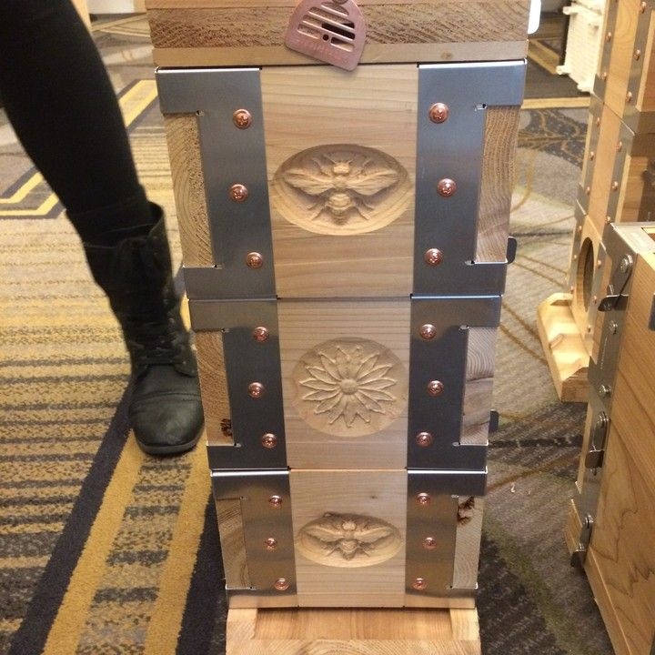 I LOVE this beehive!  Check out their website! http://mkt.com/eco-hive-solutions-co/beehives-kit-box-mini-hive