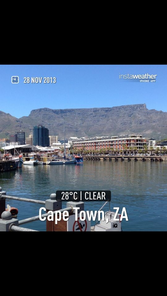 Spent an unforgettable week in Cape Town. One of the most amazing places we've been to.