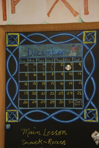 Waldorf ~ 4th grade- I love the idea of many small chalk boards in addition to the larger typical one.