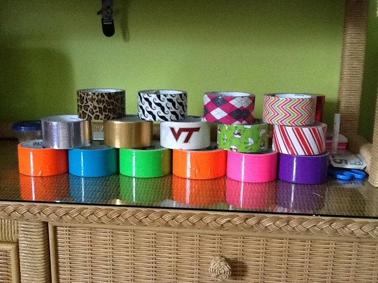 100 best duct tape party images on pinterest duck tape for Fish tape walmart