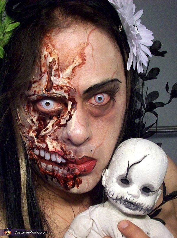 maquillaje terrorifico efectos especiales