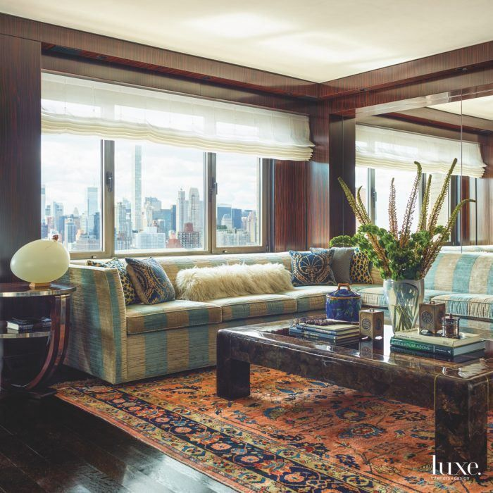 Eclectic yacht like interiors complete this nyc apartment