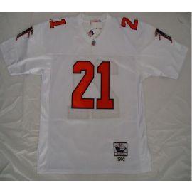0cd4c0f01 ... Nike Atlanta Falcons 21 Deion Sanders White Throwback Stitched NFL  Jersey ...