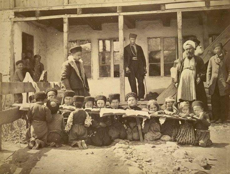 cr 1900's Tatar People In Crimea, Russian Empire