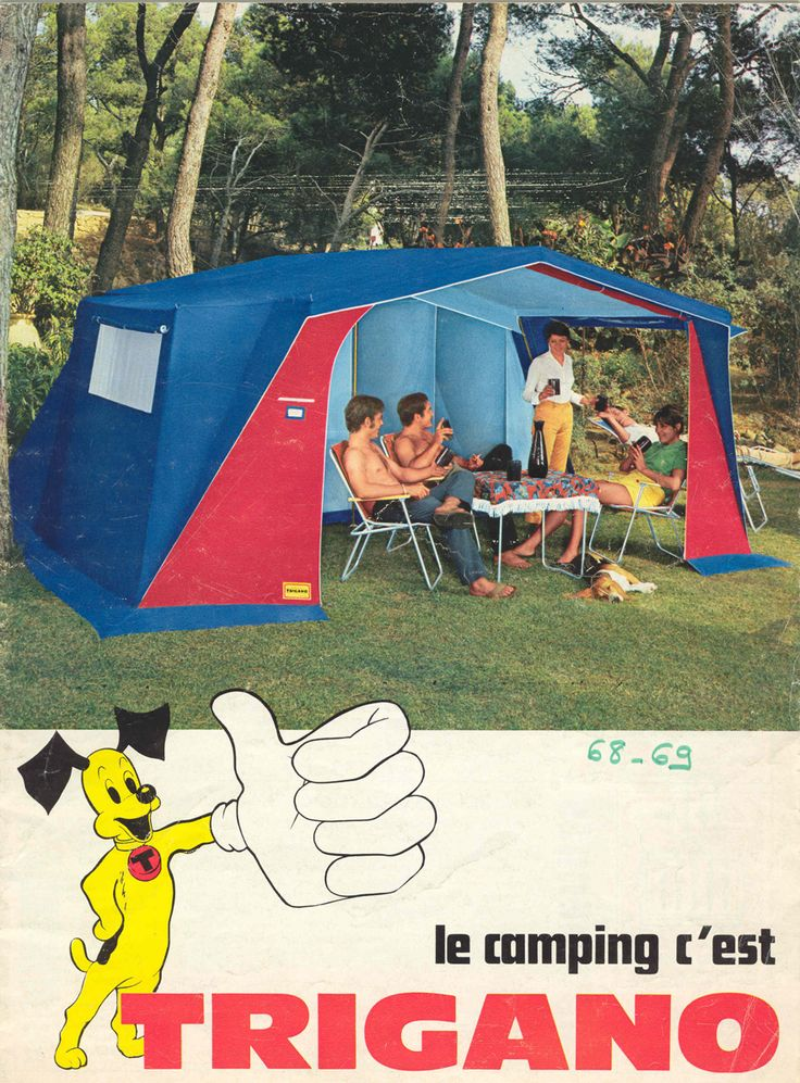 1969, summer of love... #trigano #camping