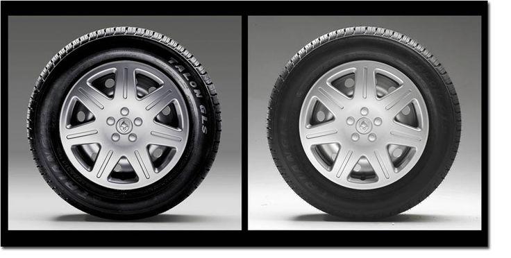 High-End Retusche für Reifen