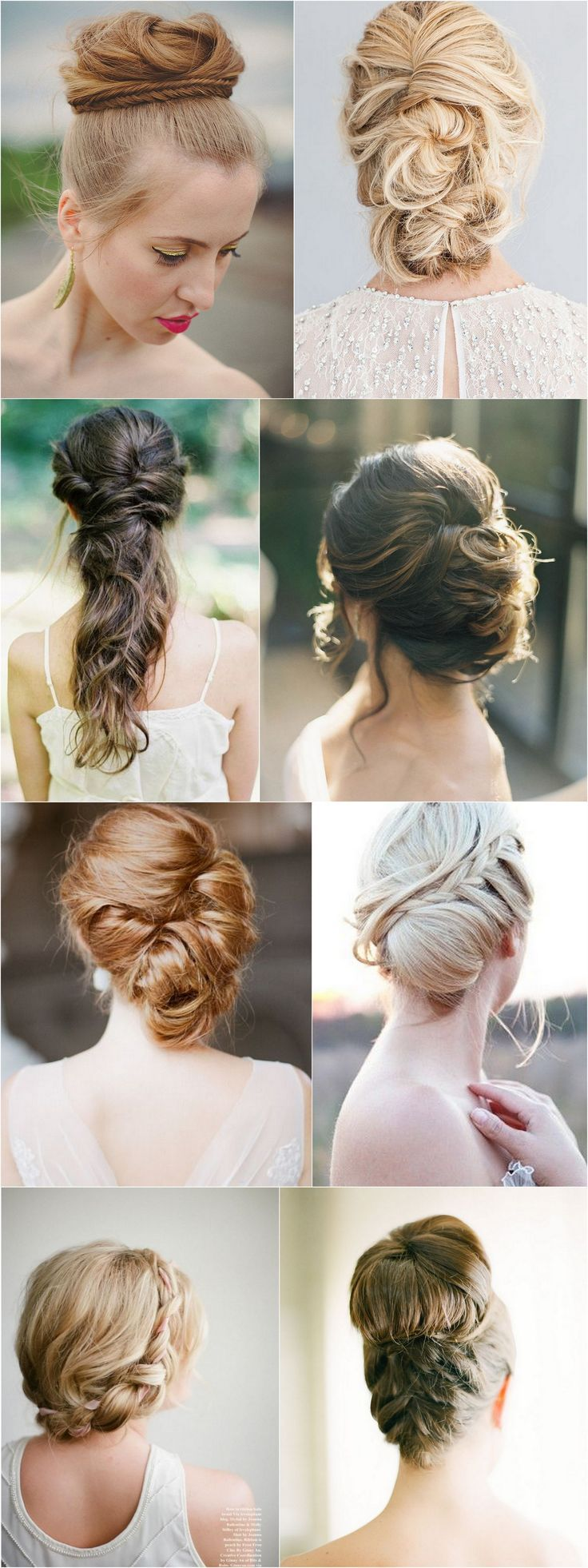 Máte dlouhé vlasy? Zapomeňte na zlakované kudrlinky a perličky v drdolu. Svatební účesy pro vaši inspiraci právě na blogu.