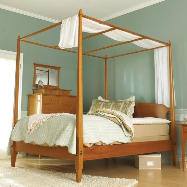 Arts Crafts Bed Mission Style Woodworking Plan From Wood