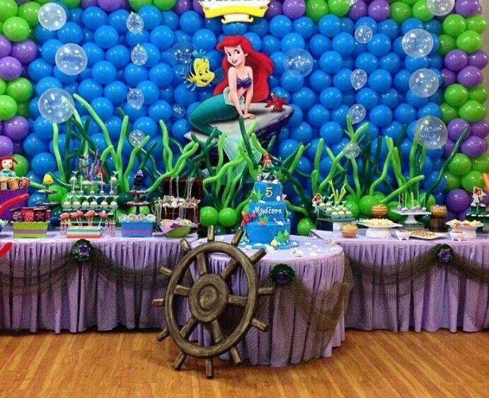 Fiesta de la sirenita!!! | My Princess | Pinterest