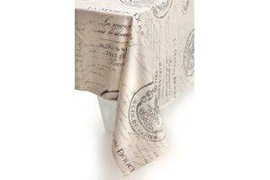French Script tablecloth - Madison