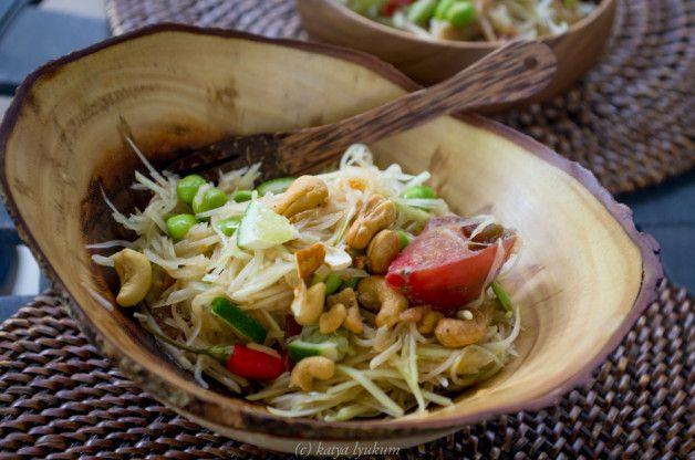 Som Tum ส้มตำ - Салат из зеленой папайи