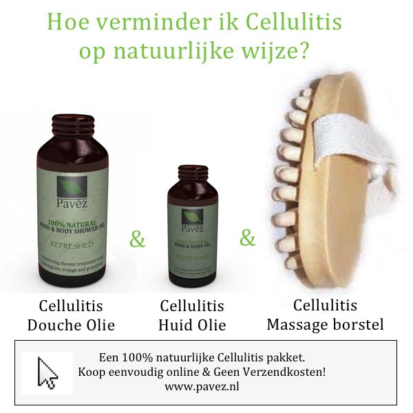 Anti Cellulitis olie voor behandeling van benen. Bestrijden. | PAVÈZ - Beauty, health & voeding