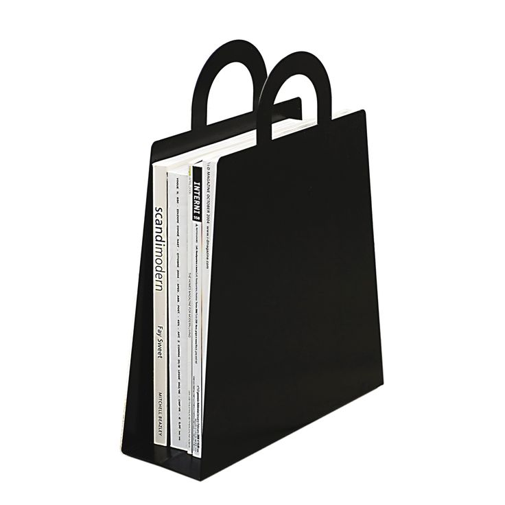 Magbag Tidningshållare, Svart, Maze