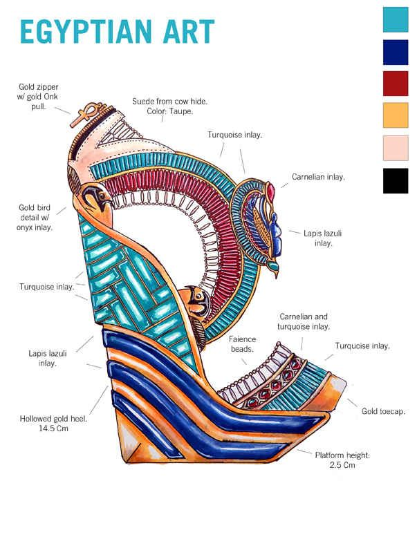 Study Artwork Historical past Via 10 Gorgeous Pairs Of Excessive Trend Heels