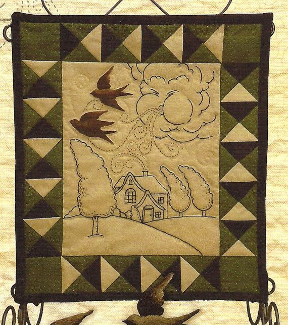 Primitive Folk Art Quilt Pattern Best Of All : 17 Best images about Paineis on Pinterest Primitive embroidery patterns, Patterns and Room ...