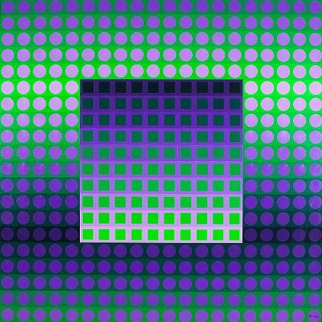 View past auction results for VictorVasarely on artnet