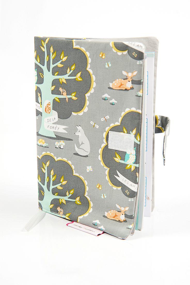 Okladka Na Ksiazeczke Zdrowia Tajemniczy Las Luggage Notebook Suitcase
