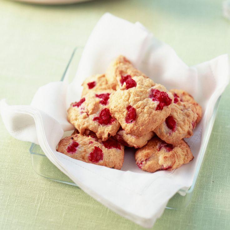 Découvrez la recette des cookies aux framboises