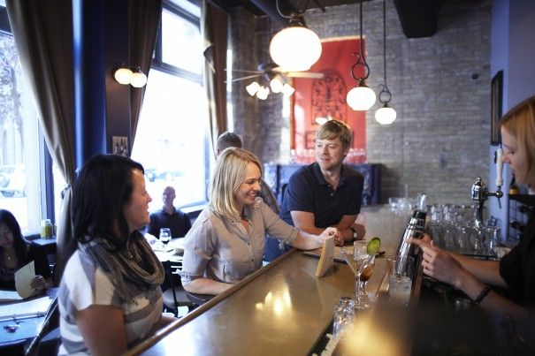 Take a food tour with Dining in the District as you are whisked through numerous neighbourhood eateries for a gourmet feast.  Win your Winnipeg adventure including flight, hotel and an adventure YOU choose! Visit http://www.tourismwinnipeg.com/pin-and-winnipeg to enter!