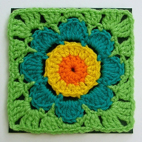Quadrado flor
