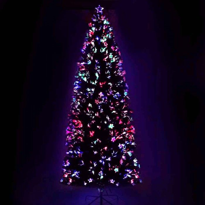 Fiber Optic Christmas Tree - 210cm