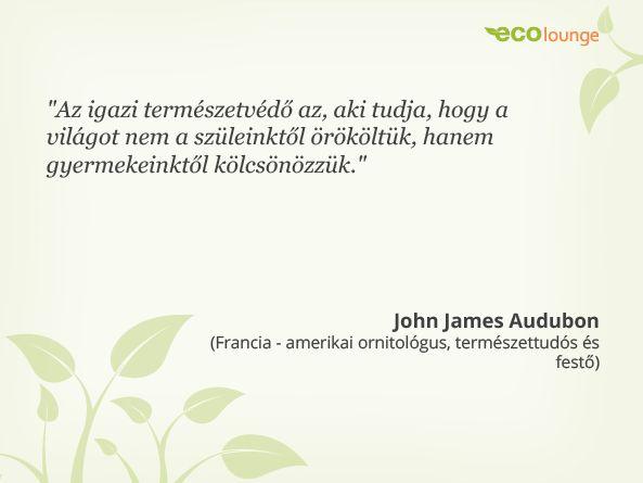 John James Audubon idézet