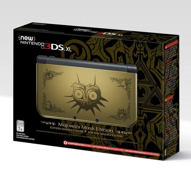 Nintendo New 3DS XL - Majora's Mask Edition